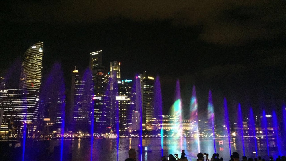 Spectra - Light show at Marina Bay Sands