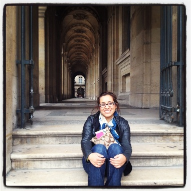 Me at the Louvre